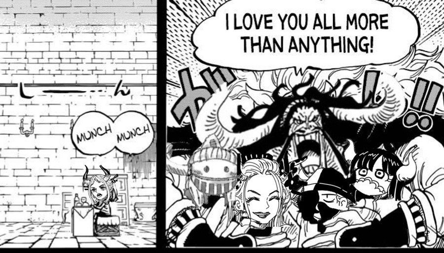kek. join list: onepiece (236 subs)Mention History.. I mean he doesnt seem to hate Yamato. He was going to make him the new Shogun of New Onigashima and even seems to go along with his Oden cosplay refering to Yam