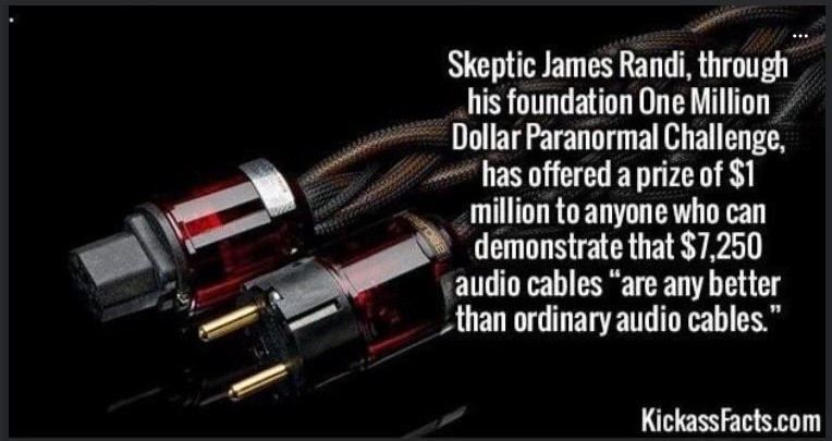 """kind Rat. .. """"this is an audio cable I bought off wish and this is the 7000$ cable, you will notice the superiority in the fact that the expensive one works"""""""