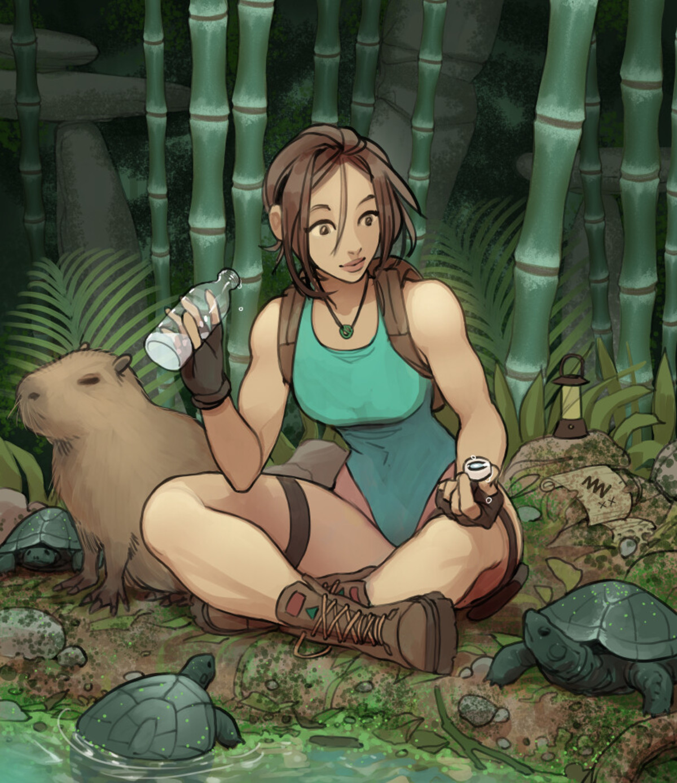 Lara Is Friend Shaped. .. Lara Croft is just Samus Aran but in Archeology. Change my mind.