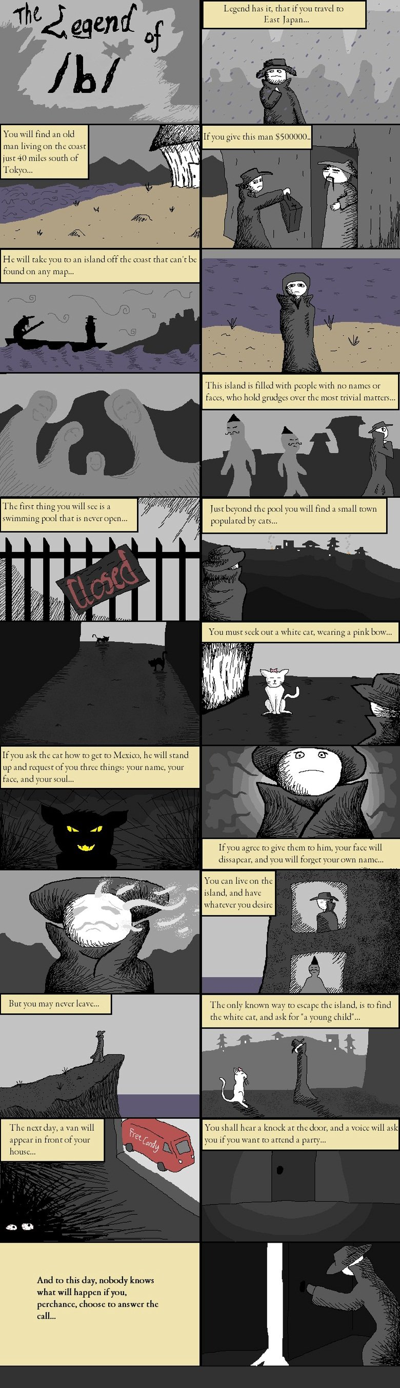 Legend of b. this is the ORIGINAL of the legend of funnyjunk comic it was posted on the /r9k/ board by some drawfag well enjoy :].. sigh, repost. its #1 on frontpage at the moment
