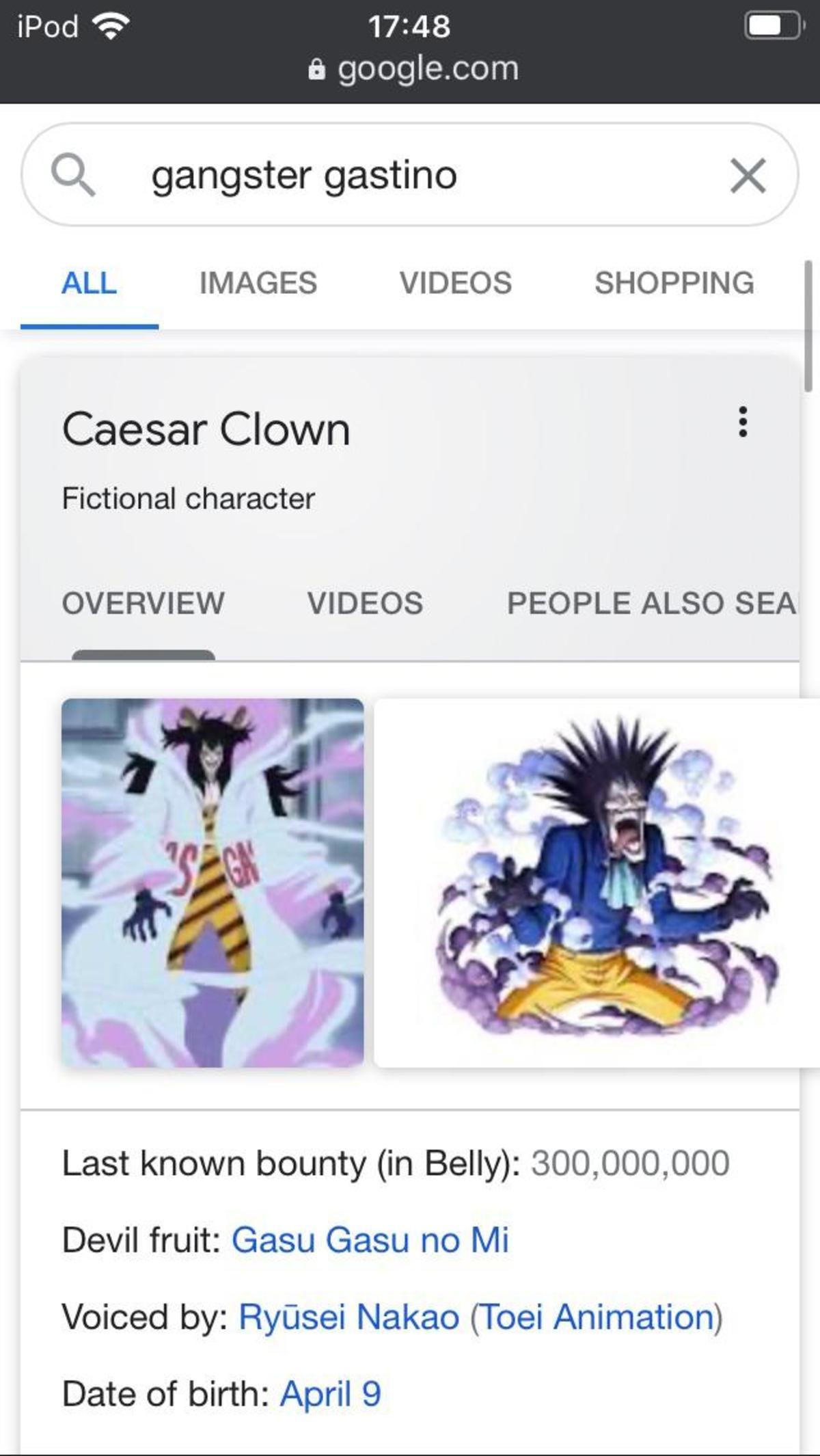 lies. join list: onepiece (236 subs)Mention History.. There are a lot of weird glitches like that when searching One Piece characters, like whats up with this?