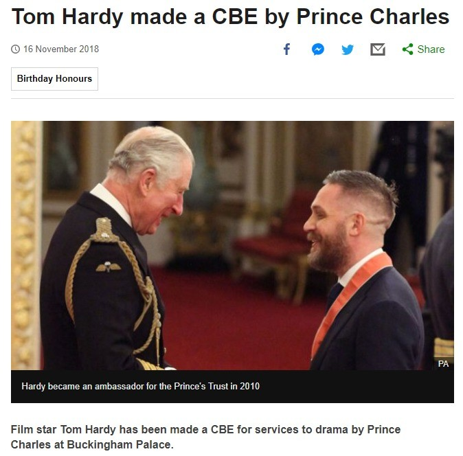 Look at his smile. join list: SoWholesome (188 subs)Mention History.. was getting knighted part of his plan?