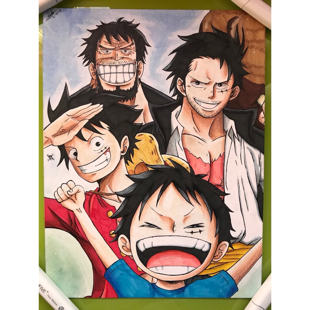 luffy. join list: onepiece (236 subs)Mention History.. The year is 2060. Eichiro Oda ha finally passed. Old Luffy is all that remains of what was once the anime industry. Gum-Gum-Dick EXTENSION BLUE is all over the