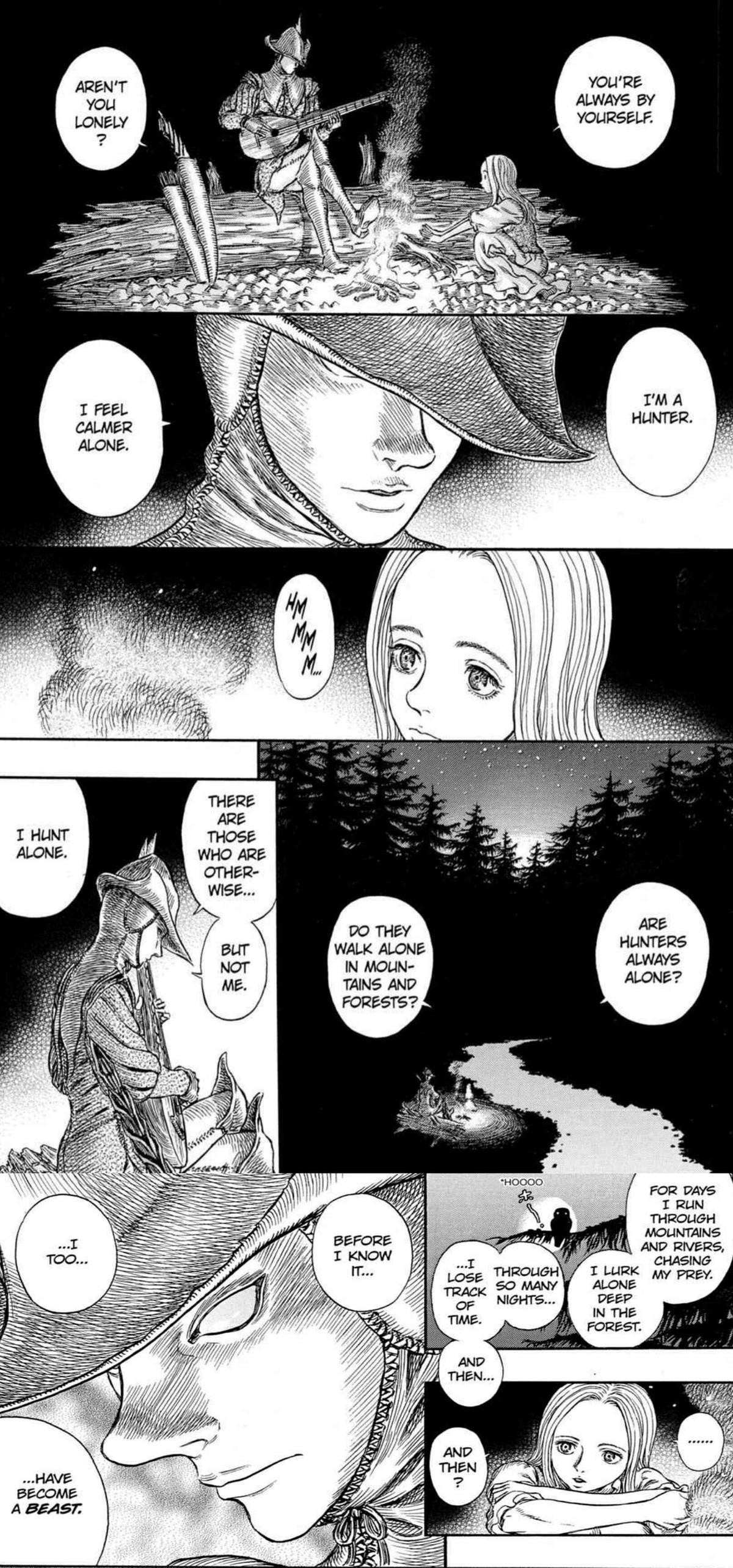 """magnificent doubtful elective Grasshopper. From berserk manga.. """"This has mad Beserk vibes! What's it called- oh."""""""