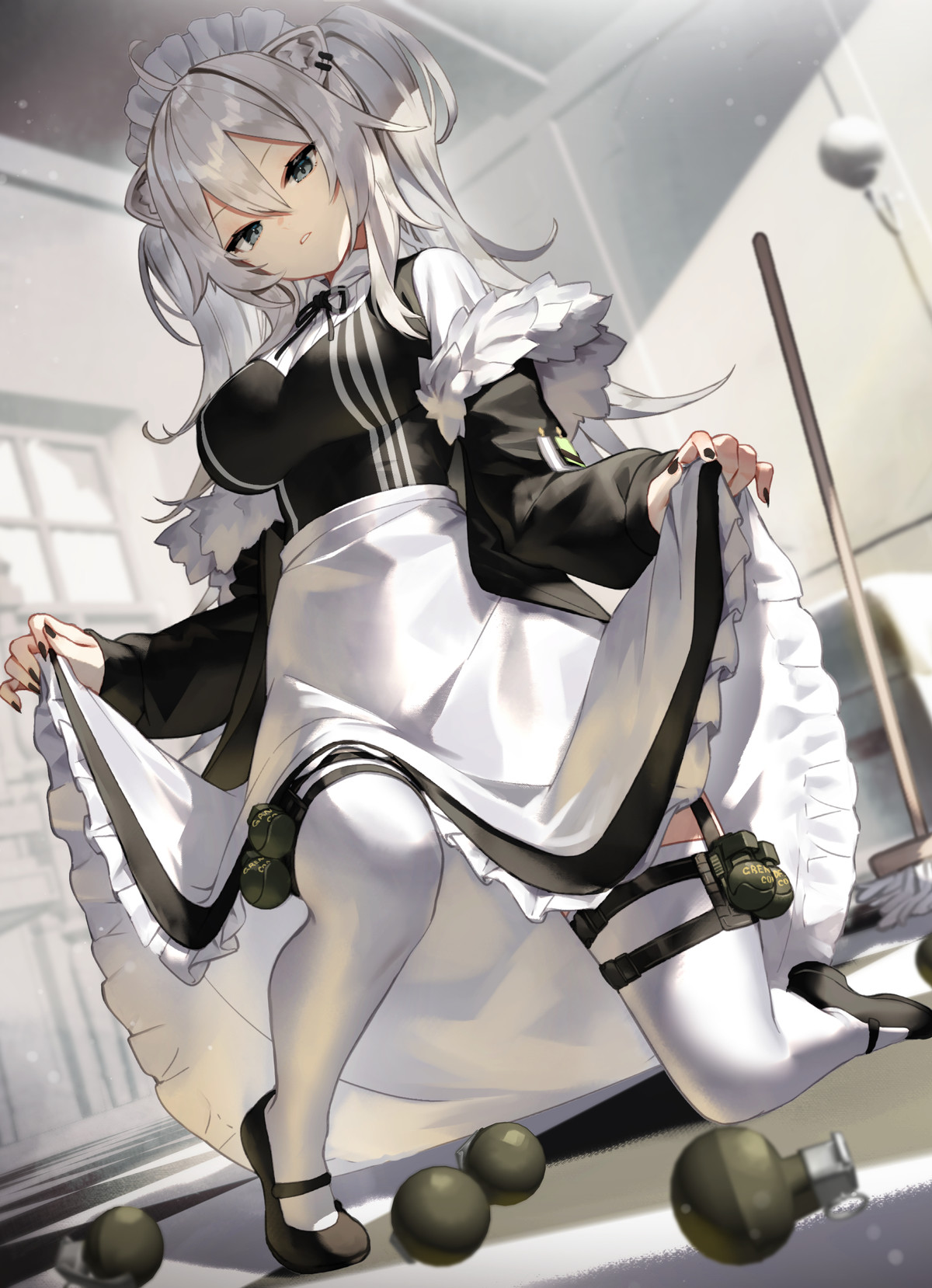 Maid March part 10. join list: SplendidServants (495 subs)Mention History join list:. Your one job was to clean. Now look what you've done, theres grenades everywhere.