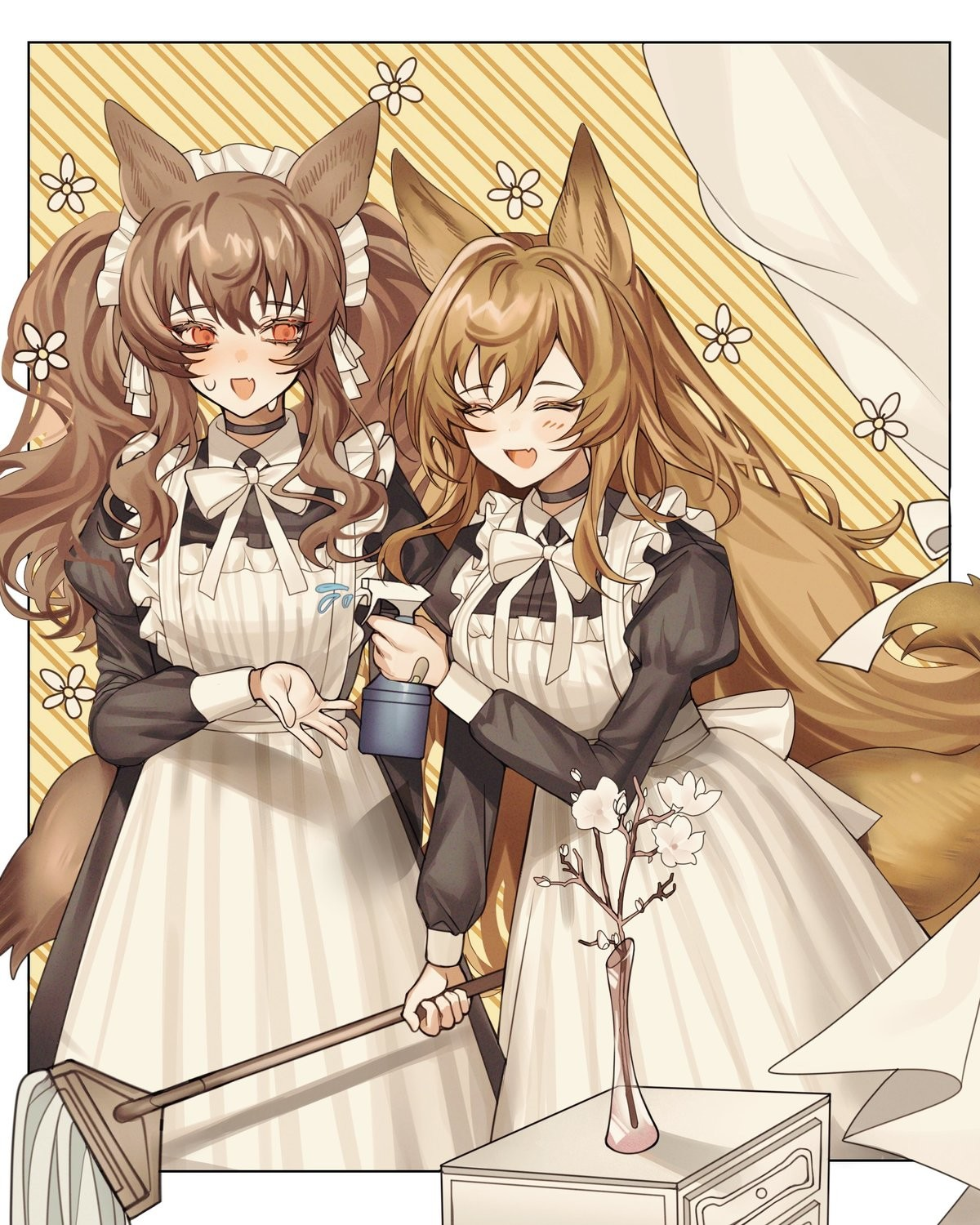 Maid March part 9. join list: SplendidServants (495 subs)Mention History join list: