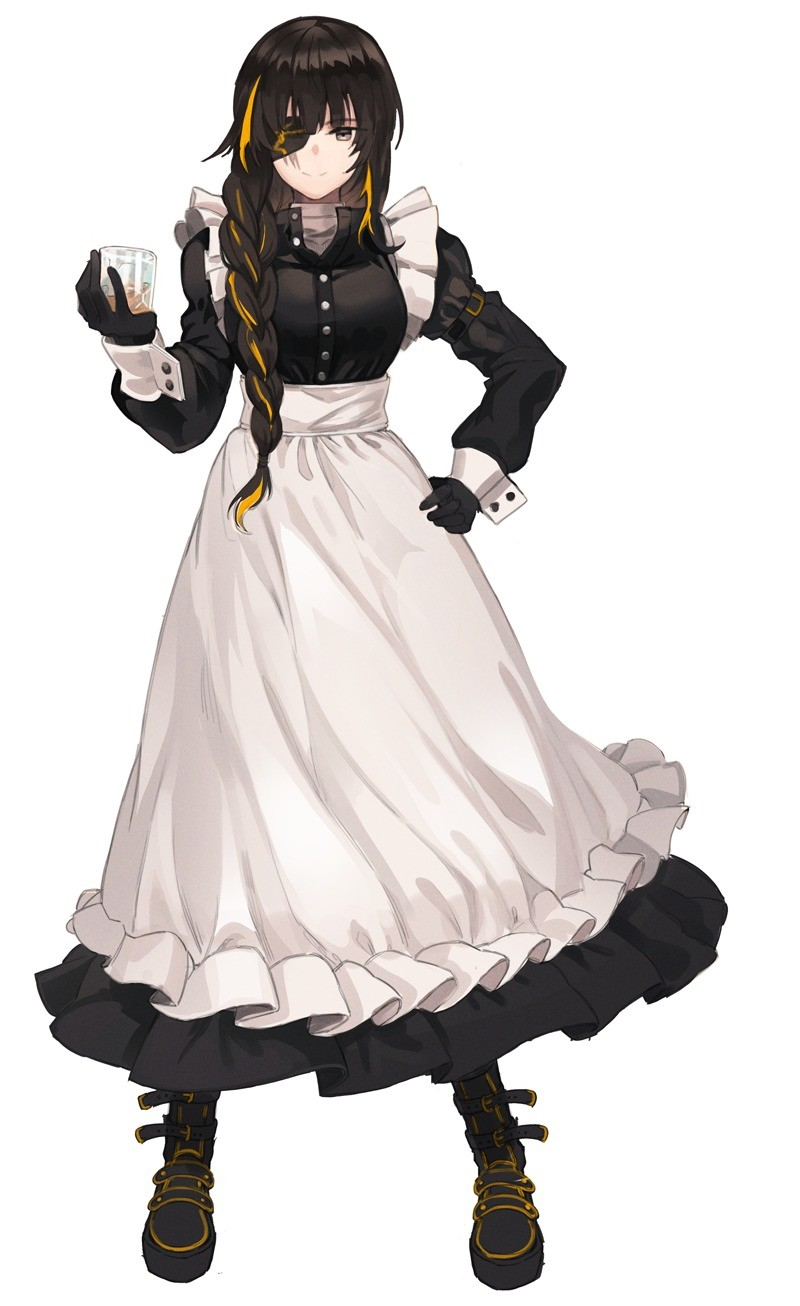 maids with eyepatches. join list: SplendidServants (495 subs)Mention History join list:. First one is M16A1 from Girls Frontline. Ironstorm, get the list!