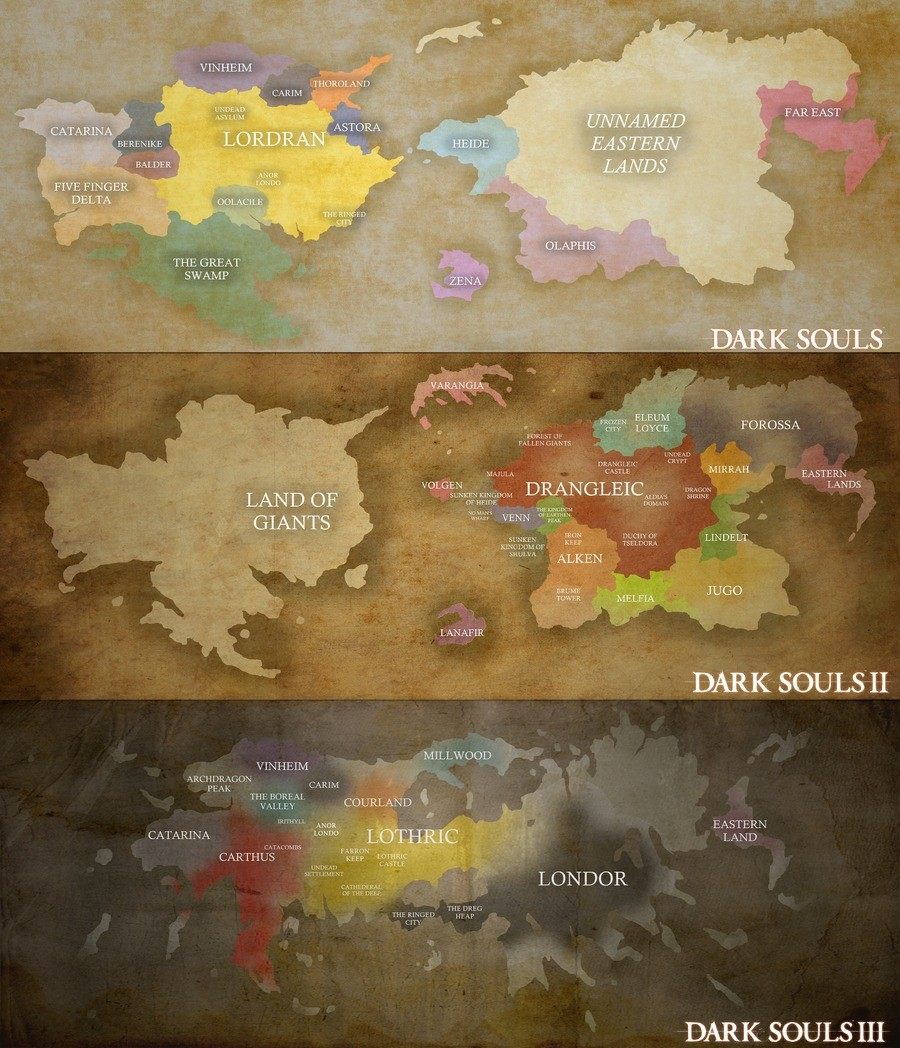 Map of all of the dark soulses. And since I had a lot of free time this month, I'd thought I'd make a youtube video about this map what I did made join list: Ch