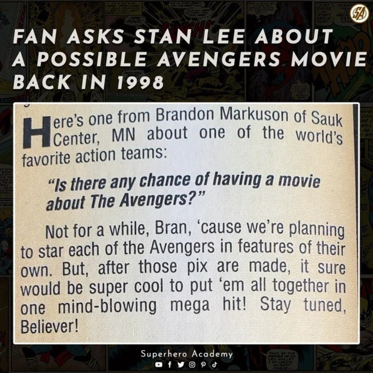 Marvel had their planned out. .. How many never got their own or were in their own after they were in an avengers movie, besides the Hulk