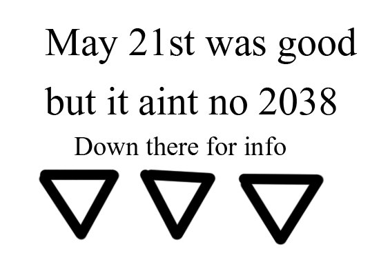 May 21st was okay. 2038problem this is what has me worried.