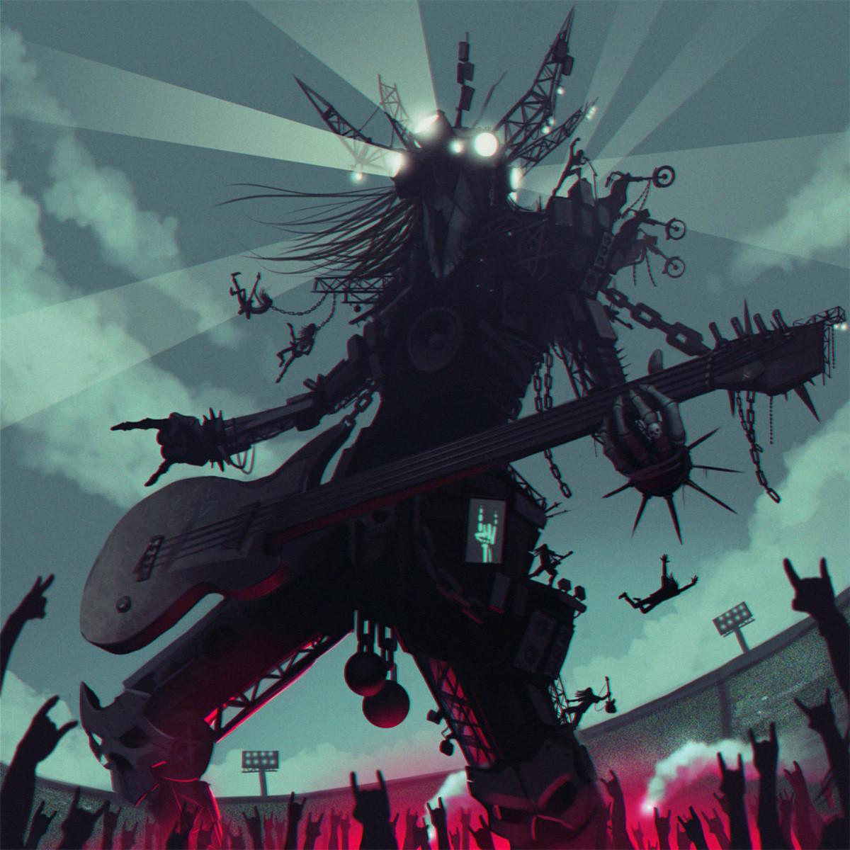 Metal God by Mihail Glooh. .. Friggin awesome Woodley widdley wahhh
