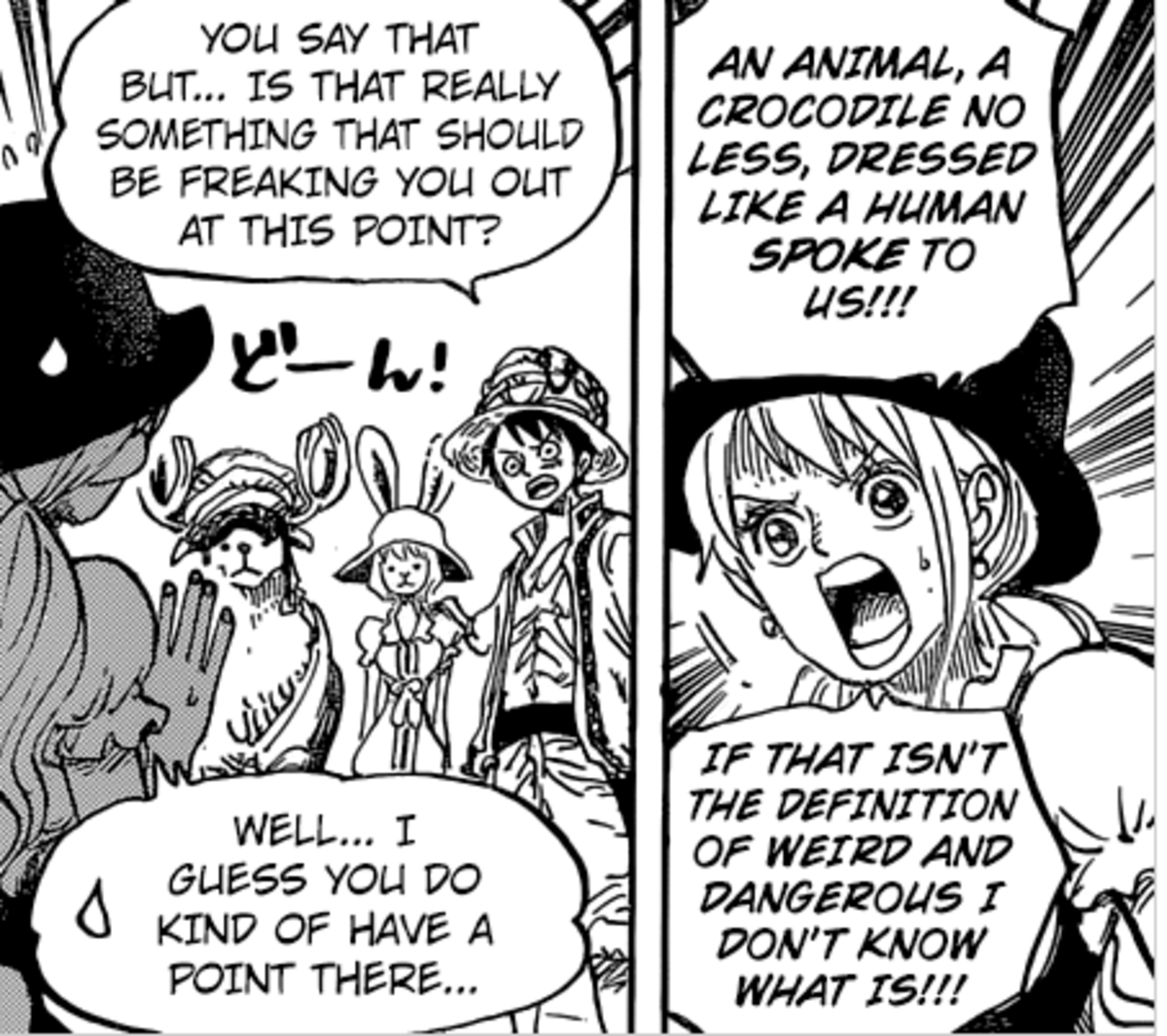 nami. join list: onepiece (236 subs)Mention History.. Acting like she never met sir crocodile