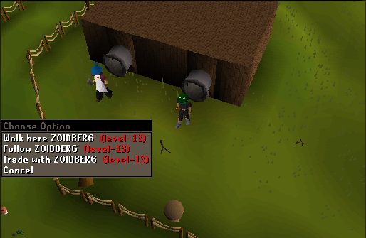 """Need a Runescape name.....?. . Mall: here Fallow Trade """"ith Cancel"""