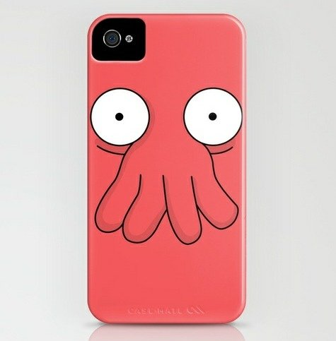 Need an iPhone Case?. Why not Zoidberg?.. zoidberg would use android, because their operating systems are named after desserts