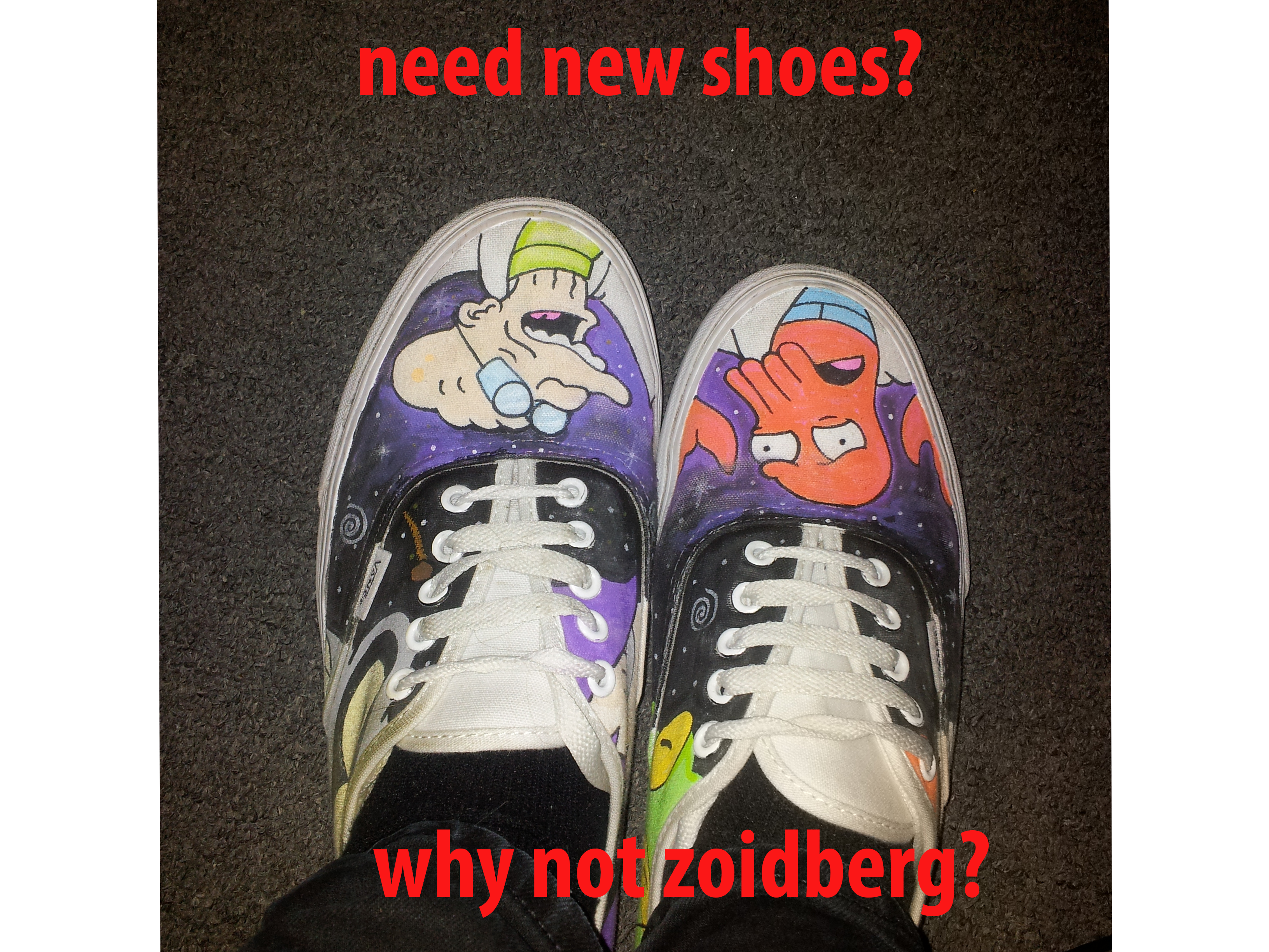 Need new shoes? why not zoidberg!. OC.