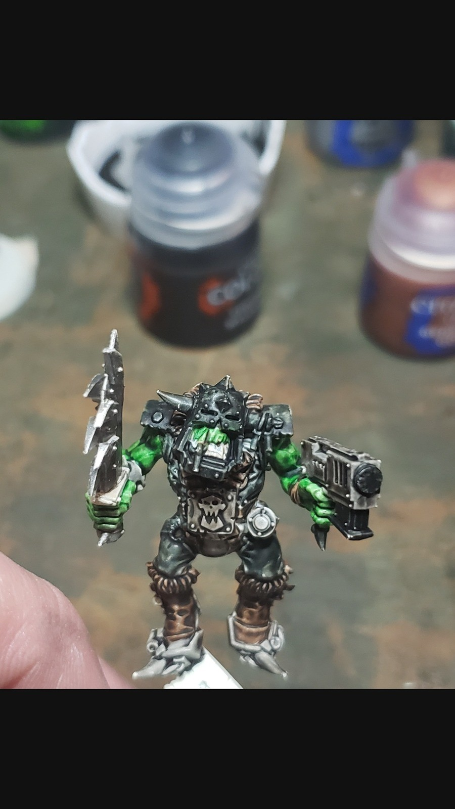 Need opinion. Ok first the quickest. Fast and dirty, white base, all contrast, wash. The longest, basing black, glazing up to the colors i need. (already know i