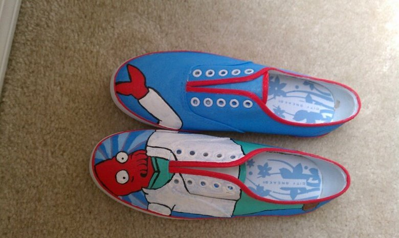 Need new shoes?. Why not Zoidberg?! .