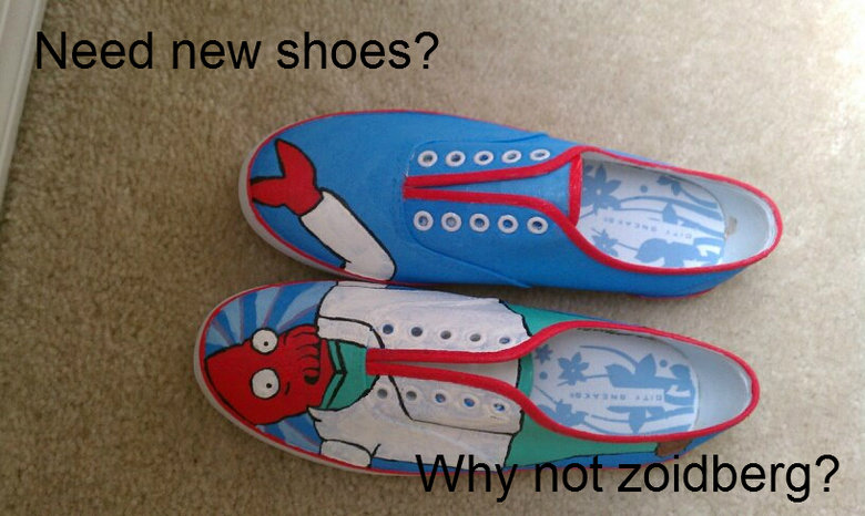 need new shoes?. lmao .