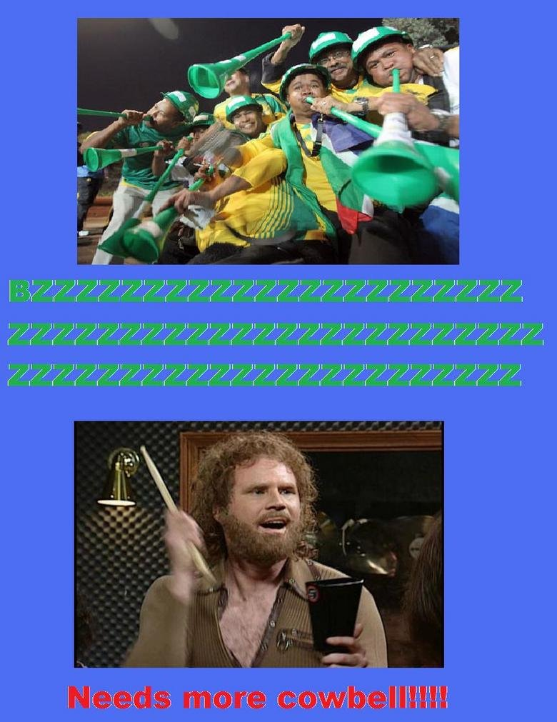 Needs more cowbell. My first pic so give feedback if that pleases you.. if not for the fail colors, this would be legit front page worthy
