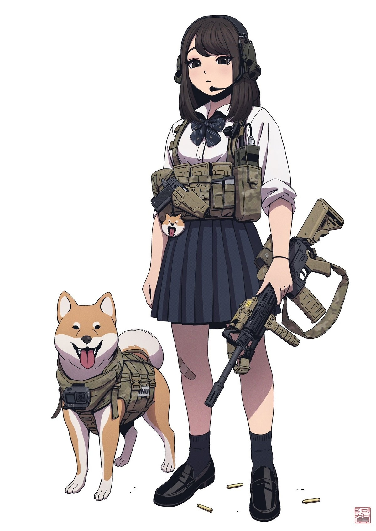 networked tough Seahorse. .. Tactical doge