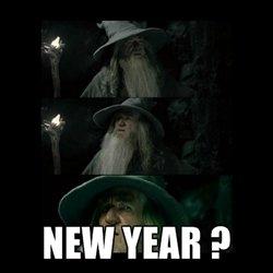 New Years...already ?. Happy New Years..