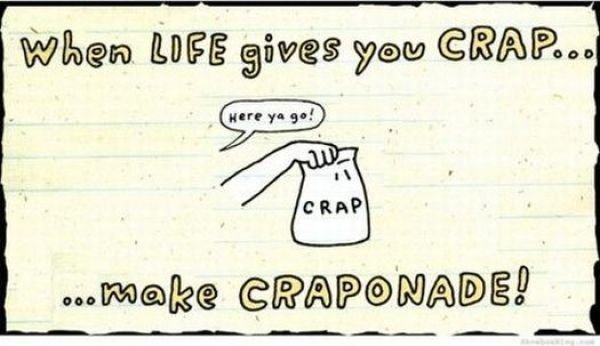 Nice glass of craponade. .