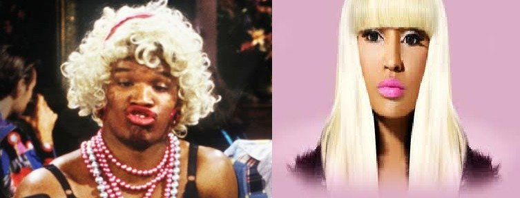 No difference. .. They're both very handsome women