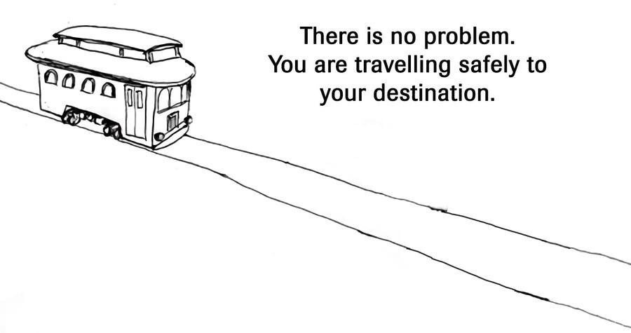 No dilemma at all. join list: WholesomeStuff (2340 subs)Mention History.. This version of the Trolly Problem worries me more than any other I've encountered..