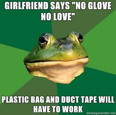 "No Condom. Seems legit.. SAYS "" (lululu toimi"" ME Mill 'I' lli' E WM. better use 2 plastic bags... just in case."