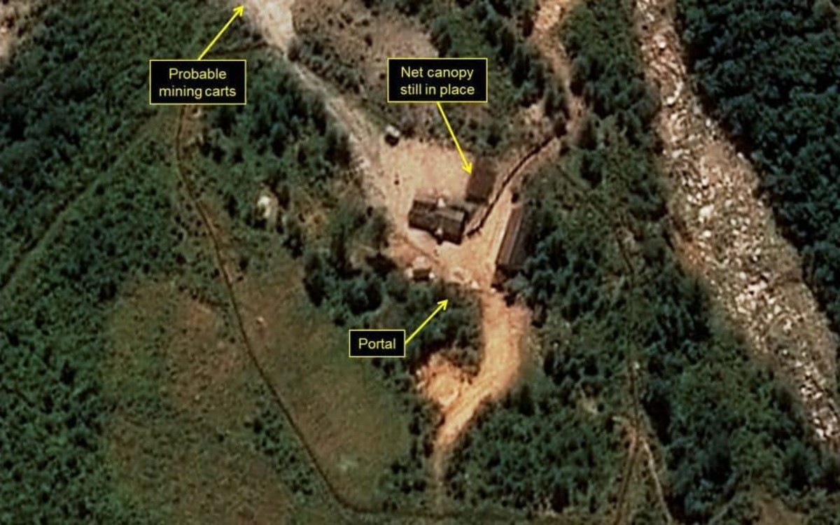 North Korea: 200 dead in tunnel collapse. Collapse at North Korea nuclear test site 'leaves 200 dead' A tunnel has collapsed at Punggye-ri nuclear test site in