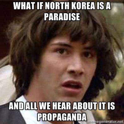 North Korea. . If NINTH KOREA IS ll .'