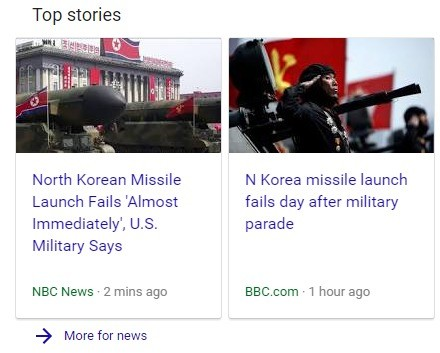North Korean Missile Launch: LIVE Footage. Mission accomplished.. Top stories North Korean Missile N Korea missile launch Launch Fails 'Almost fails day after m