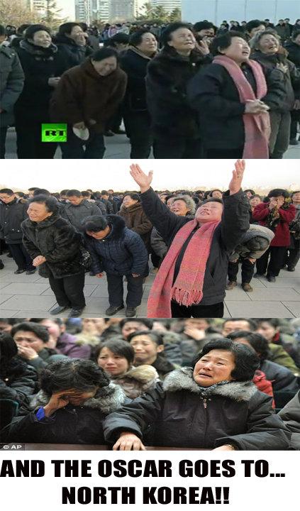 North Korea. great. iitt, THE , GOES