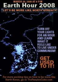 North Korea. . Earth Hour 2008 Trlolol EFF TOO LIGHTS FOR AN MID LEARN l Moll IT 1 an Mm If f