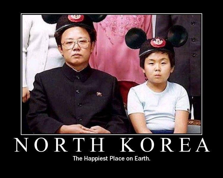 North Korea. . NORTH ) Royk The Happiest Place on Earth.
