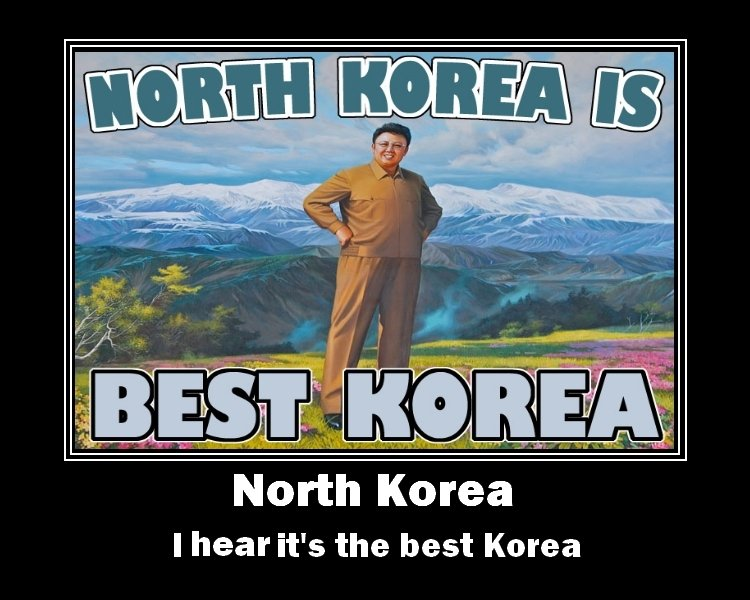 """North Korea. Also,<br /> <a href=""""pictures/1065859/Pulp+Fiction+Parody+Comp/"""" target=blank>funnyjunk.com/funny_pictures/1065859/Pulp+Ficti"""
