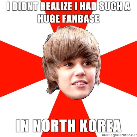 North korea?. who would of thought? oh well they must be nice people. rnsm.. The Koreans like the tiny wang!