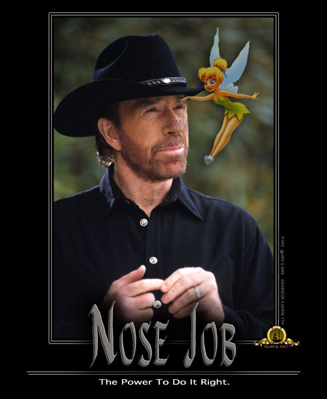 NOSE JOB. . The Power To Do It Right.