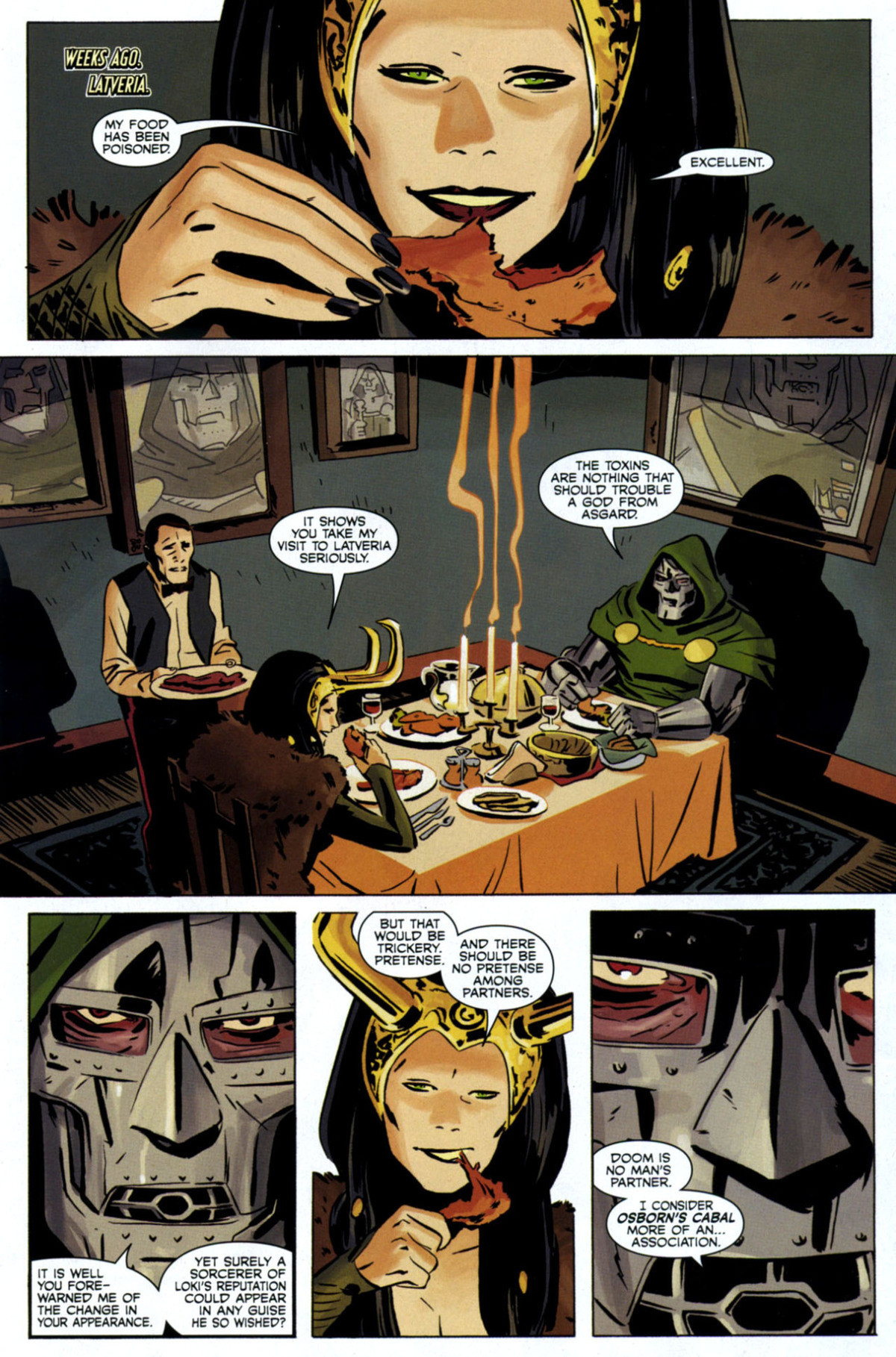 nosy Lanklets. .. I know it hasn't always been consistent trait, but writing Dr Doom as not caring for his people lives just feels wrong. Everyone in the Marvel universe thinks h
