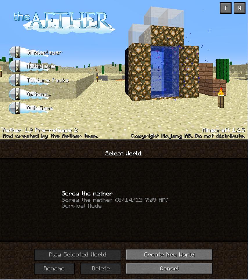 Not Minecraft. .
