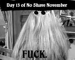 November. The tags must tell you something.... Dar 15 of No Shaw
