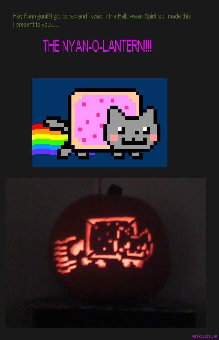 NyanOLantern. Hai! i made this! Tread easy please..