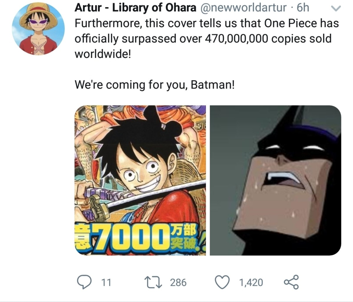 OP CHADS RISE UP. join list: onepiece (236 subs)Mention History.. Looks like he gave a sweaty batnut