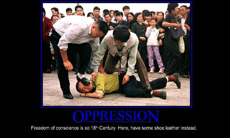 oppression. .. Resisting arrest fail