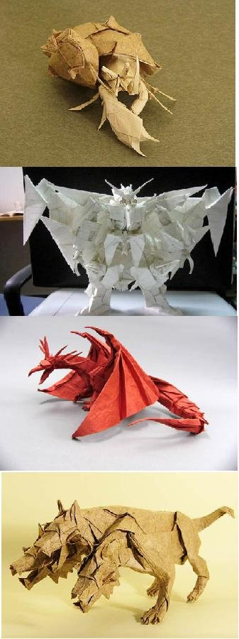 Origami. 50 thumbs up for part 2, and much much more pictures ^^.. this isnt origami, this is made by wet paper