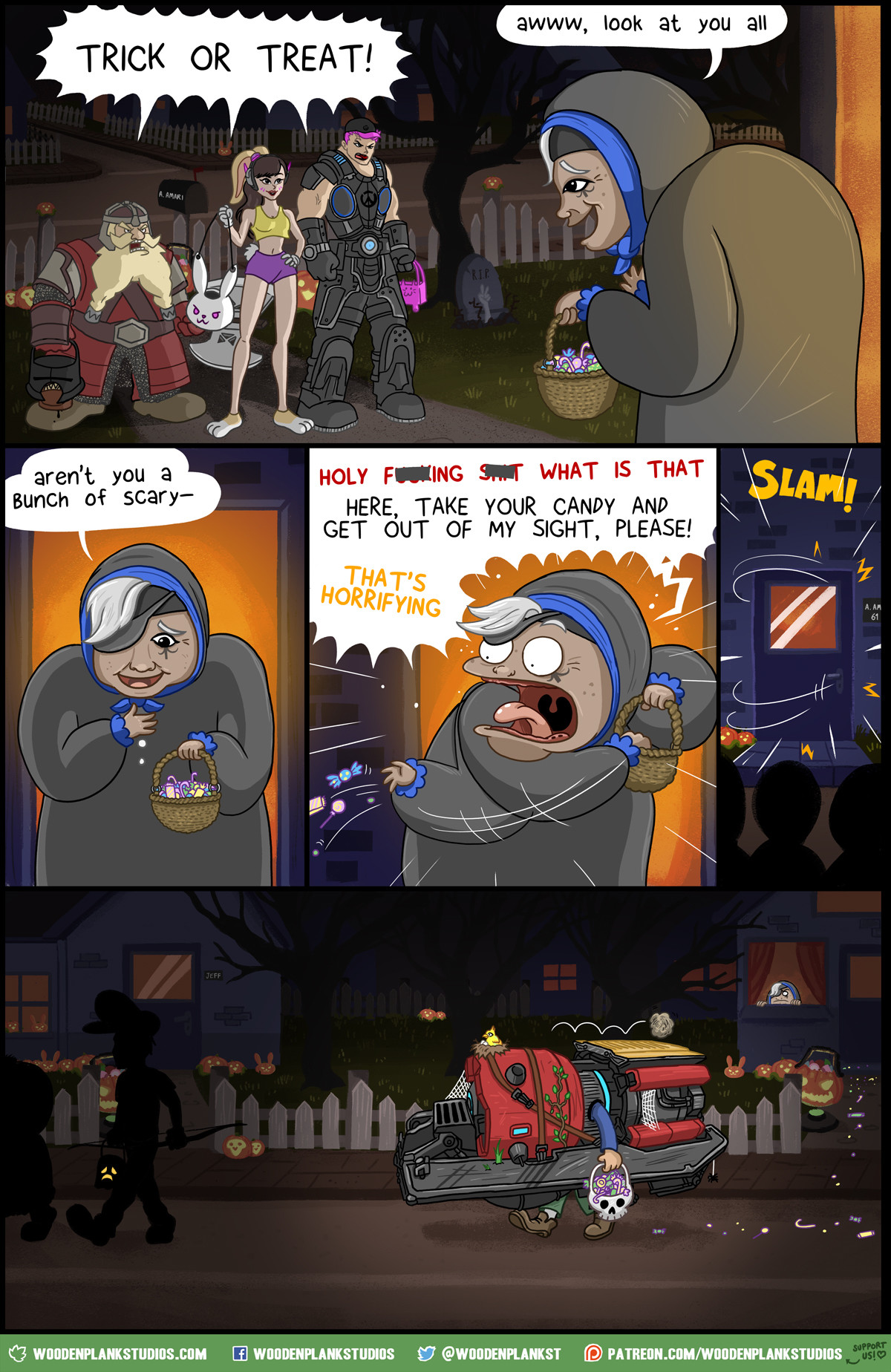 Overwatch Halloween Special. Happy Halloween FunnyJunk! To celebrate, we've made this comic in EIGHT different flavours, each one with different Overwatch heroe