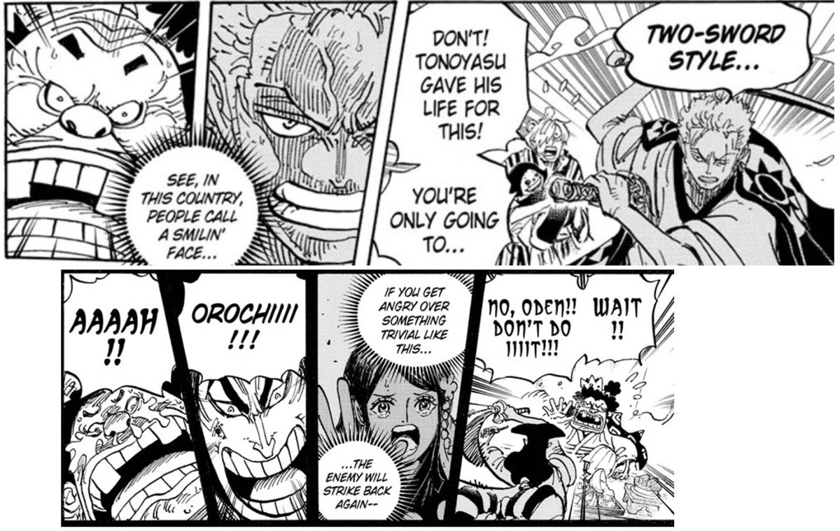 parallels. join list: onepiece (236 subs)Mention History.. >let's just post spoilers with no context for no reason