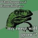 Philosoraptor Pinochio. .