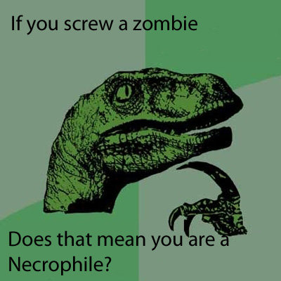 Philosoraptor. Well.... are you?.. Yes.