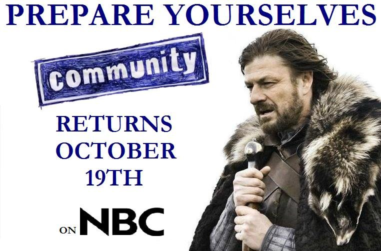 Prepare YourSelves. Community At Comic Con With G4: .